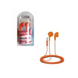 Auricular Inear Jack 3.5 Maxell Stereobuds Eb-95 Naranja
