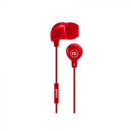 Auricular Inear Maxell Rojo In-Bax