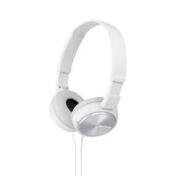 Auricular Vincha Plegable Mdr-Zx110 Blanco