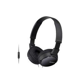 Auricular Vincha Jack 3.5 Mdr-Zx310Ap Con Microfono Negro
