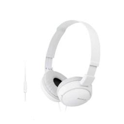Auricular Vincha Jack 3.5 Mdr-Zx310Ap Con Microfono Blanco