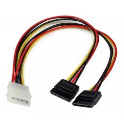 Cable Doble Sata Poder