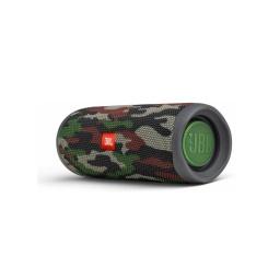 Parlante A Batería Jbl Flip 5 Camuflado Con Estuche
