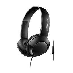 Auricular On Ear Linea Bass+ C/microfono Philips Shl3075Bk/0