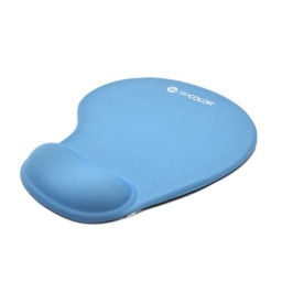 Mouse Pad Con Gel Azul Ripcolor Rp-D0501