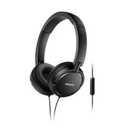 Auricular On Ear Philips C/microfono Shl5005 Negro