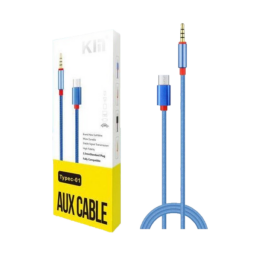 Cable Auxiliar Audio 3.5 & Tipo-C 1 Metro Ky-126