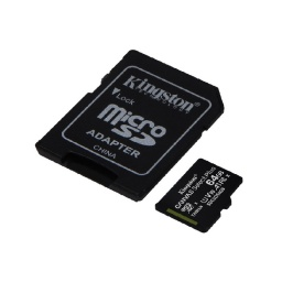 Memoria Micro Sd 64Gb Kingston Canvas Select Plus
