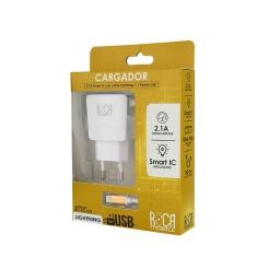 Cargador Inteligente Roca 2.1 Lightning Rc-Tc-L21