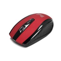 Mouse Klever Inalambrico Klip Rojo Kmw-340Rd