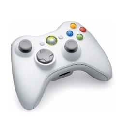 Joystick Inalambrico Xbox 360 Blanco