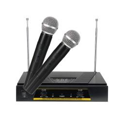 Kit De 2 Microfonos Profesionales Inalambricos Pro