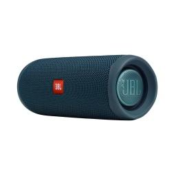 Parlante A Batería Jbl Flip 5 Azul Con Estuche