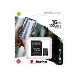 Memoria Micro Sd 16Gb Kingston Canavas Select