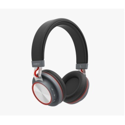 Auricular Vincha Bluetooth Xion Au40Bt Negro Con Azul