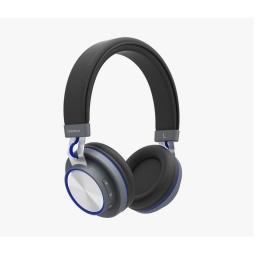 Auricular Vincha Bluetooth Xion Au40Bt Negro Con Rojo