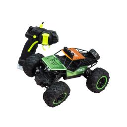 Vehiculo Rover A Radio Control En Metal Verde