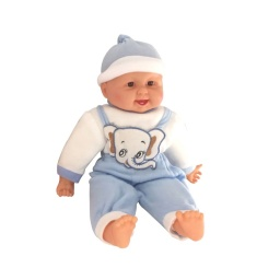 Bebe / Muñeco 50 Cm Azul