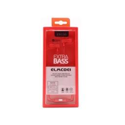 Auricular Inear Manos Libre Extra Bass Ev110 Micrófono Rosad