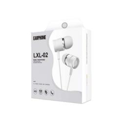 Auricular Inear Con Microfono Jack 3.5 Earphone Lxl-02.
