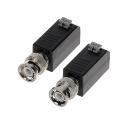 Conector De Video Balun Hikvision Ds-1H18 (2 Unid.)