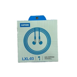 Auricular Inear C/microfono Jack 3.5 Earphone Lxl-03