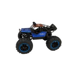 Vehiculo Rover A Radio Control En Metal Azul