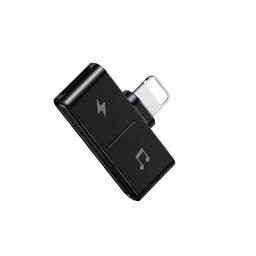 Adaptador Splitter Ligthning Audio + Carga Usams