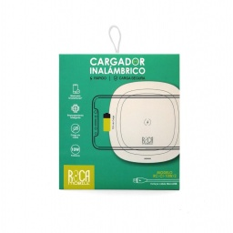 Cargador Inalámbrico Rapido Roca Rc-Ci-10W/2