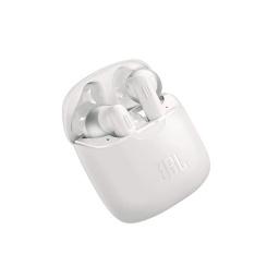 Auricular Inear Bluetooth Jbl Blanco Con Microfono Tune 220