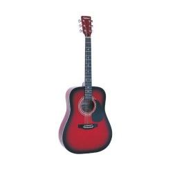 Guitarra Acustica Fever Fga1041 Cuerdas De Acero