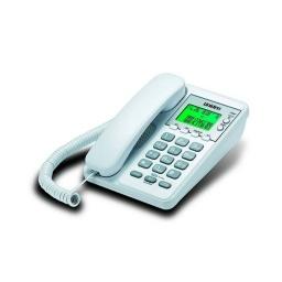 Telefono De Mesa/pared Con Captor Uniden Blanco As6404