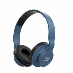 Auricular Vincha Bluetooth Sd/tf Xion Au30Bt Azul  C/mic
