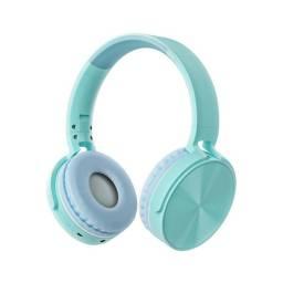 Auricular Vincha Bluetooth/microsd Ledstar Stn-36 / Azul