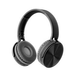 Auricular Vincha Bluetooth/microsd Ledstar Stn-36 / Negro