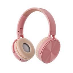 Auricular Vincha Bluetooth/microsd Ledstar Stn-36 / Rosa
