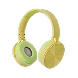 Auricular Vincha Bluetooth/microsd Ledstar Stn-36 / Amarillo