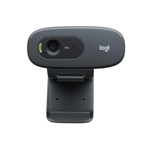 Camara Web Logitech C270 Hd 720P 30 Fps  C/ Mic.