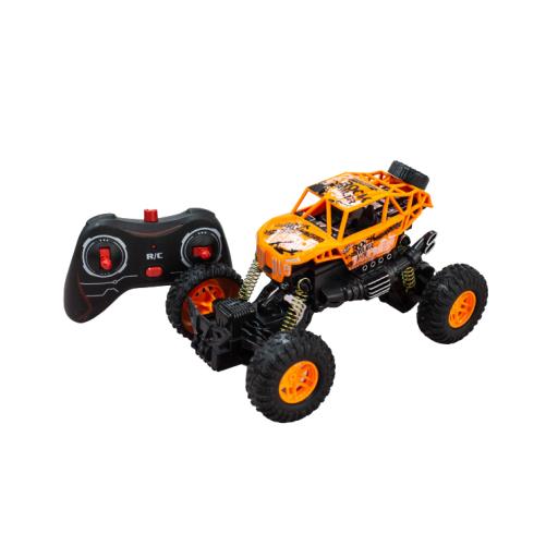 Vehiculo A Radio Control Crawler 4X4 Naranja