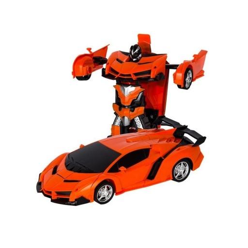 Auto Transformer A Control Remoto Naranja