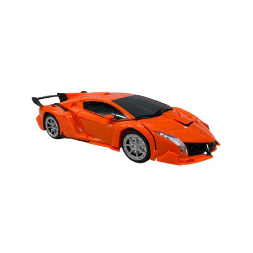 Auto Transformer Grande A Control Remoto Naranja