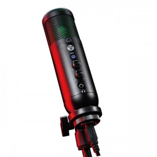 Microfono Gamer De Condensador Fantech Leviosa Mcx01